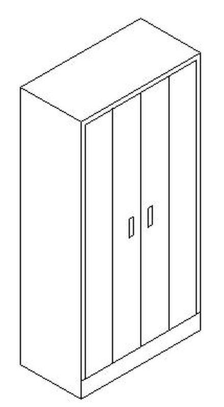 Armarios metalicos de puertas plegables en madrid y toledo - Armario puertas plegables ...